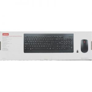 Lenovo wireless Keyboard and Mouse Combo (English+Arabic)